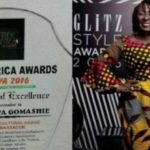 Abla Dzifa Gomashie honoured with Trek Africa Awards in Nigeria