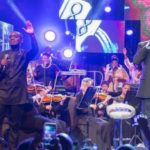Joe Mettle performs with Donnie McClurkin