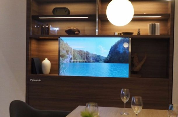 Panasonic reveals 'invisible' TV: Screen turns transparent when you're not watching