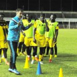 PHOTOS: Uganda train in Lome ahead of Ghana World Cup qualifier