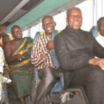 Veep meets Ntotroso chief's request. Donates bus to nursing college