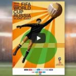 2018 FIFA World Cup Russia Official Poster unveiled at Moscow Metro