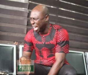 Watch video: SP Kofi Sarpong cries uncontrollably over KABA's death