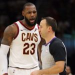 LeBron James ejected for first time in NBA career