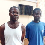 Two arrested over possession of human parts