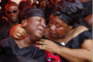 Video: KABA's wife weeps
