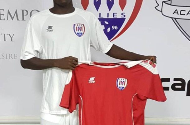 Inter Allies sign Michael Otou from Unistar Academy