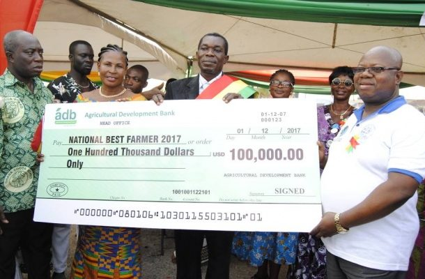 ADB sets up agric desk for farmers