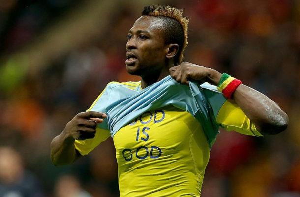 Ghana striker Patrick Twumasi wins Astana fans' Player of the Season award