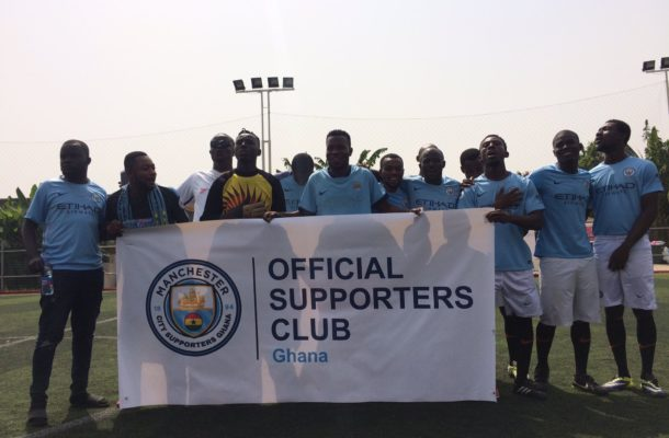 English giants Manchester City endorse supporters club in Ghana