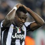 Kwadwo Asamoah an unused substitute in Juventus 3-1 win against Verona