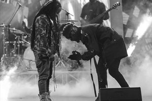 Sarkodie, Obrafour squash 'beef' rumour as they give thrilling performance at Rapperholic  |Video