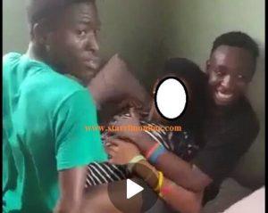 Teenagers gang rape video goes viral