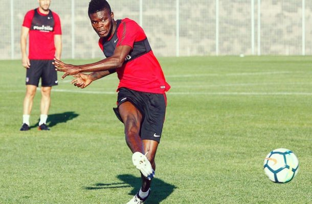 WATCH: Thomas Partey scores a screamer in training for Atletico Madrid