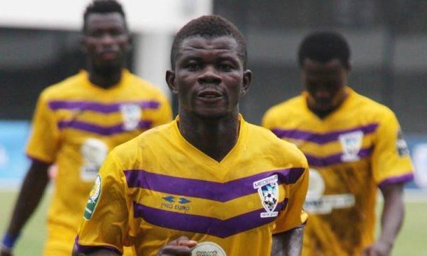 Medeama midfielder Kwasi Donsu has returned to full scale training