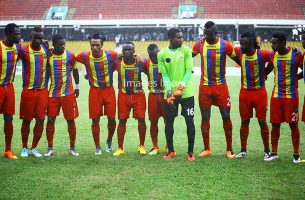 Hearts releases GHC 230k to settle players and officials wages