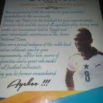 Agyemang Badu celebrated for lifting the image of his hometown
