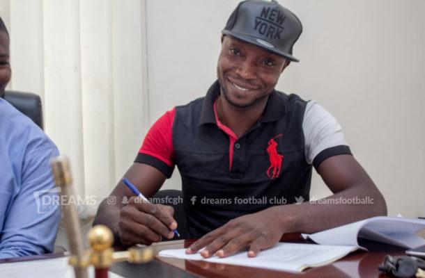 Dreams FC sign veteran goalkeeper Isaac Amoaka