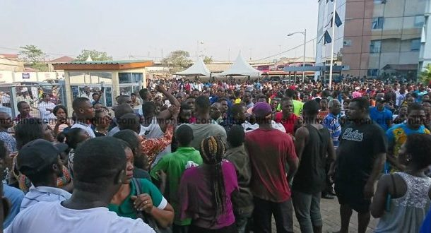 Hundreds besiege ECG office over prepaid system challenges