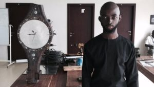 Photos/Video: Ashesi University student makes lucrative business from waste dump