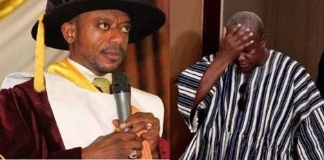 I love Mahama's humility but God says he can't be Prez again – Rev. Owusu Bempah