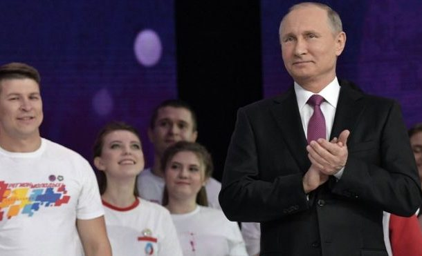 Russia election: Putin to run again for president