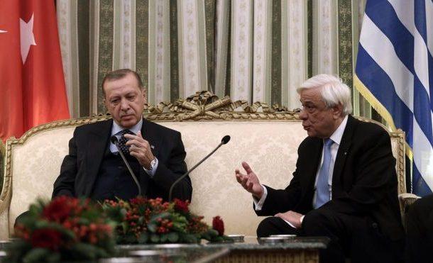 Tense start Erdogan's Greece visit as Turkish leader calls for border treaty review