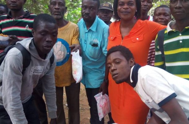 PHOTOS: Journalist hangs out with ghetto boys for Christmas Party