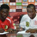 OFFICIAL: Kotoko complete the signing of Emmanuel Owusu from Nea Salamina