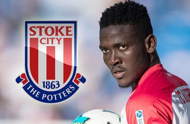 Stoke City step up chase for Ghana defender Daniel Opare