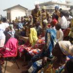 B/A: Techiman radio station donates to widows, orphans