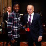 Ghana striker Richmond Boakye-Yiadom wins Red Star Belgrade Player of The Year award