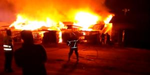 PHOTOS: Fire guts Kumasi market, millions of cedis lost