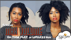 GhanaGuardianBeauty: Flat to Fabulous! How to add volume to natural hair |Video