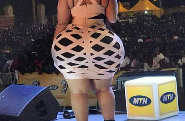 Photos: I have the biggest backside in Africa – MTN promoter
