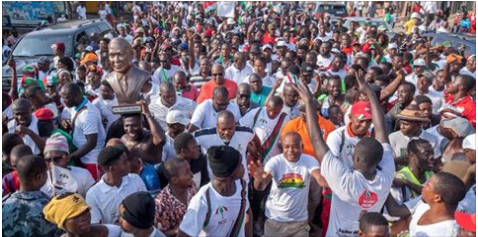Ex-President Mahama's message to NDC year after the election defeat