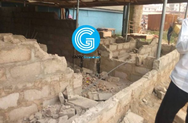 Ksi: Suspected Delta Force demolishes toilet, make away with Ghc30,000