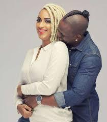 Video/Photo: Juliet Ibrahim and her boo Iceberg Slim share a kiss again on live TV