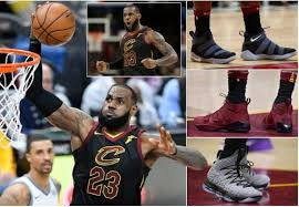 LeBron James changes footwear three times to help Cleveland Cavaliers to 13th straight victory (Photos)
