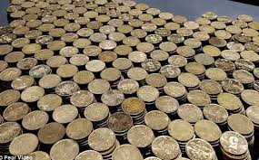 Man buys brand new BMW with the coins he had saved for many years (Photos/Video)