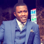 Christmas: John Dumelo fetes with widows