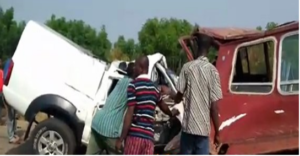 VIDEO: Police officer, GCB driver crashed to death