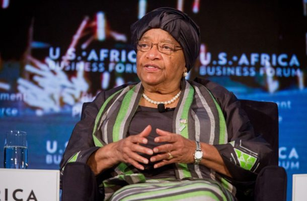 Outgoing Liberia President Sirleaf Sets Up Joint Transition Team