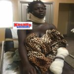 PHOTOS: Angry boyfriend slashes girlfriend's throat over meat