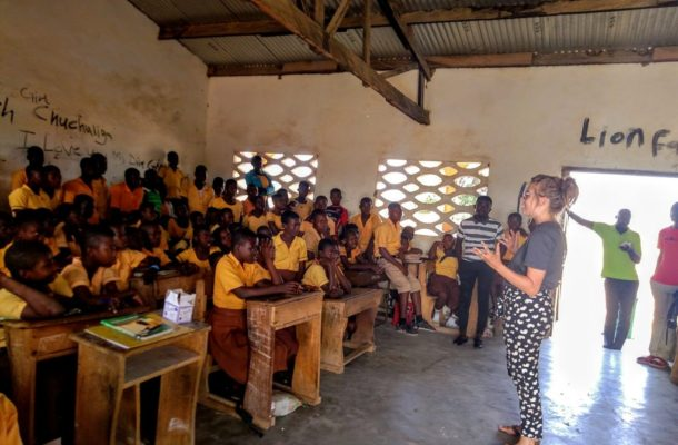 Scottish volunteer returns home after 'changing lives' in Ghana
