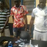 Police officer arrested for peddling narcotics