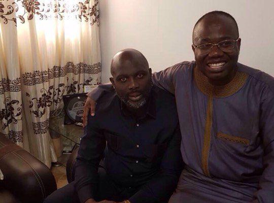 Exclusive: Kwesi Nyantakyi offers Liberia president-elect Oppong Weah huge security blanket in Liberia