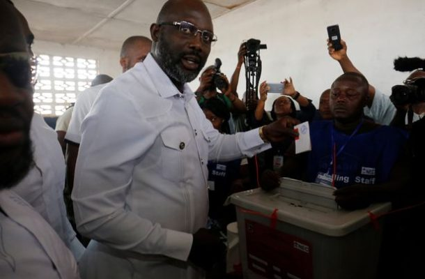 George Weah asks Boakai to concede defeat in Liberia election