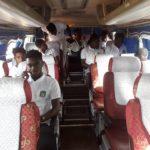 Aduana,Dreams FC set off for Kumasi ahead of G8 clash today