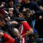 Diego Costa scores and is sent off in first Atletico start